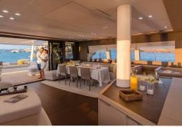 Catamarán Lagoon seventy 7 interior