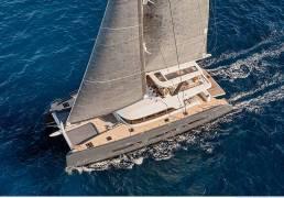 Catamarán Lagoon seventy 7 cubierta